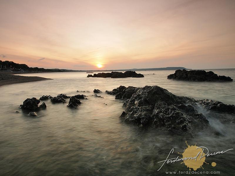 Sunrise at Laiya Beach Batangas