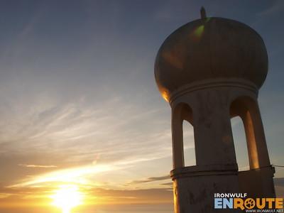 Bongao, Capitol Sunrise