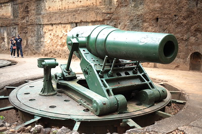 Big guns on Corregidor