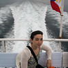 Fast ferry with proud Philippino flag!