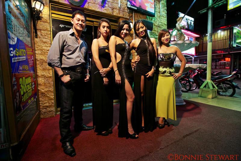 Bar girls in Manila