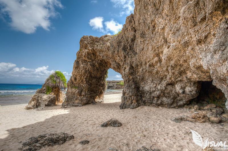 Nakabuang Arch, Morong Beach, Sabtang Island, Batanes Philippines