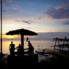 By the sea in Tagbilaran, this is a spot where locals like to spend their evening and watch the sunset. And have a swim. And a drink.
