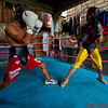 Boxers in Rick Flores Boxing Gym in Cebu