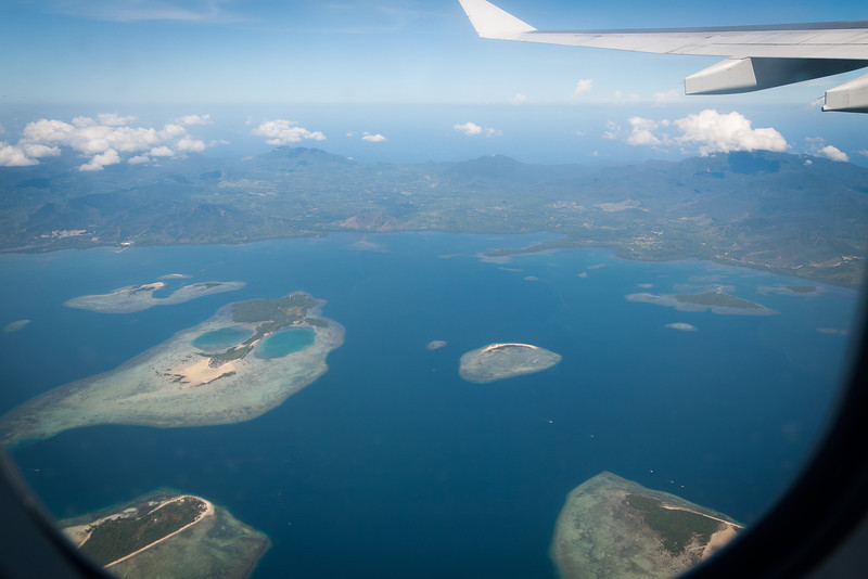 Taking off from Palawan. This is is Honda Bay, right next to Puerto Princessa.