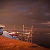 Past sunset at Manila bay.