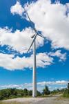 Wind turbine at wind farm east of Manila, October 2016. [General Nakar 2016-10 010 Luzon-Philippines]