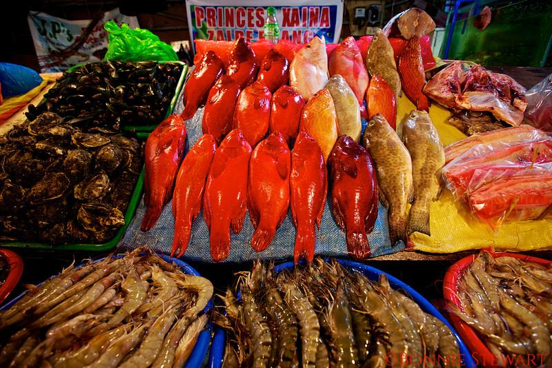 Fish market in Manila