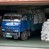 A truck loaded with the Manila Bulletin.