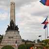 The memorial of Jose Rizal in Rizal Park, Manila. This is pretty much where Rizal was executed in 1896.