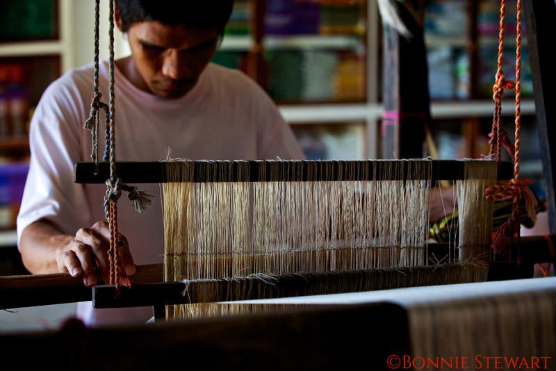 Weaver in Vigan