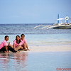 Students enjoying a break on Bohol Island