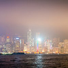 Our last evening in Hongkong, looking once more at the buildings in he clouds.