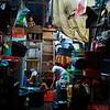 Wet market in Manila