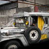 """Most Jeepneys have some """"theme"""" - this one's is obviously """"Germany"""", which I find a very good idea. I wish he had spend a little more effort on decoration, though..."""