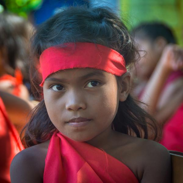 Children of Masla Village, part of the Dumagat Ecotourism Project. Near General Nakar, October 2016. [Dumagat 2016-10 028 Luzon-Philippines]