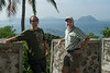 Jason Fox and me overlooking Lake Taal, Luzon, March 2014.