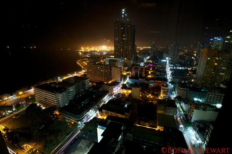 Night view of Manila