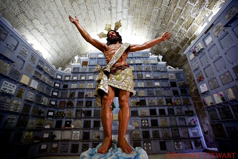 Christ statue, St. Augustine Church