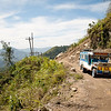 """This is """"the road"""" that goes back to Banaue. Only Jeepneys can go here, or, like we unfortunately did on our way back, tricylces. It was very very bumpy!"""