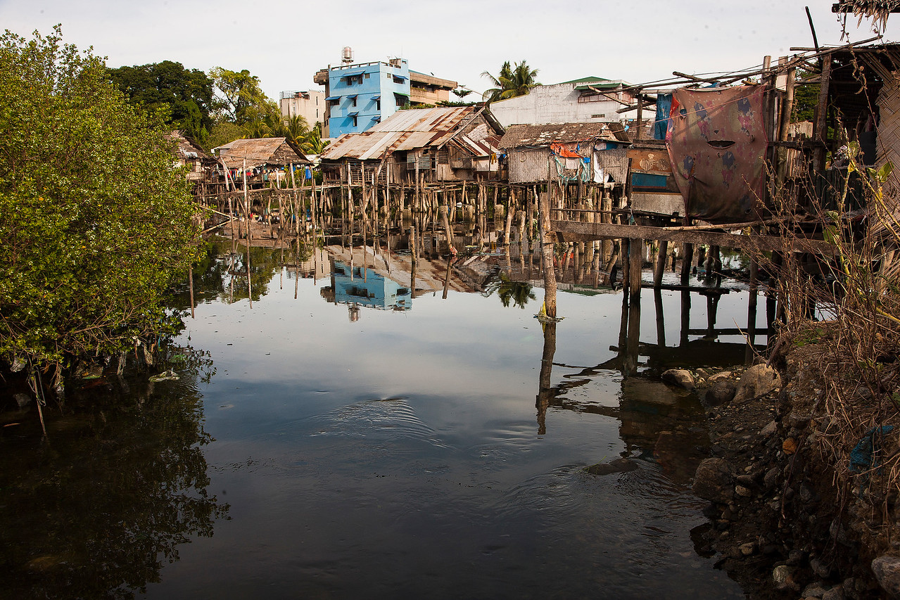 This is a fishing village that is part of Puerto Princesa. The houses are all made of whatever could be found laying around. It reminds me of how we built things in Iraq.