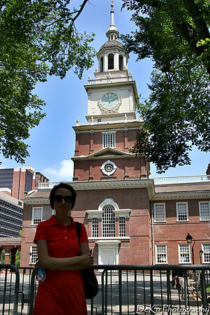 Chrissy & Independence Hall