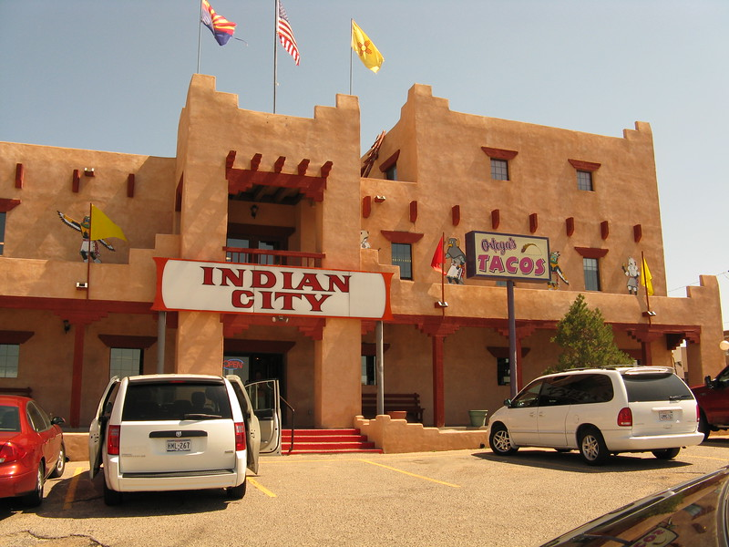 We stopped here just before the New Mexico state line to use the restrooms and look at souvenirs.