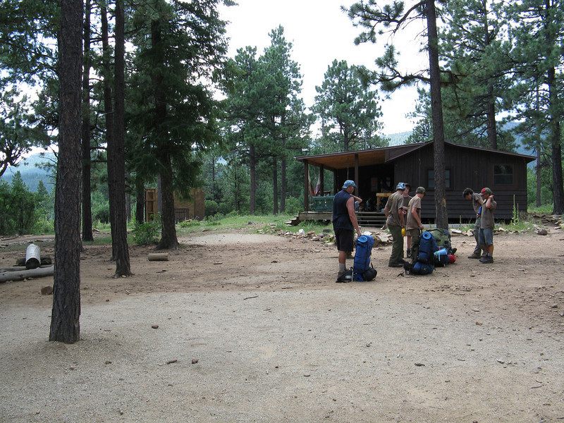 Our third night was at Miner's Park staff camp.
