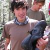 Alex shot his laces right through the shoe!