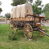 Covered wagon from the Santa Fe Trail, which runs right next to Philmont.