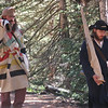 Here come the mountain men with their rifles.