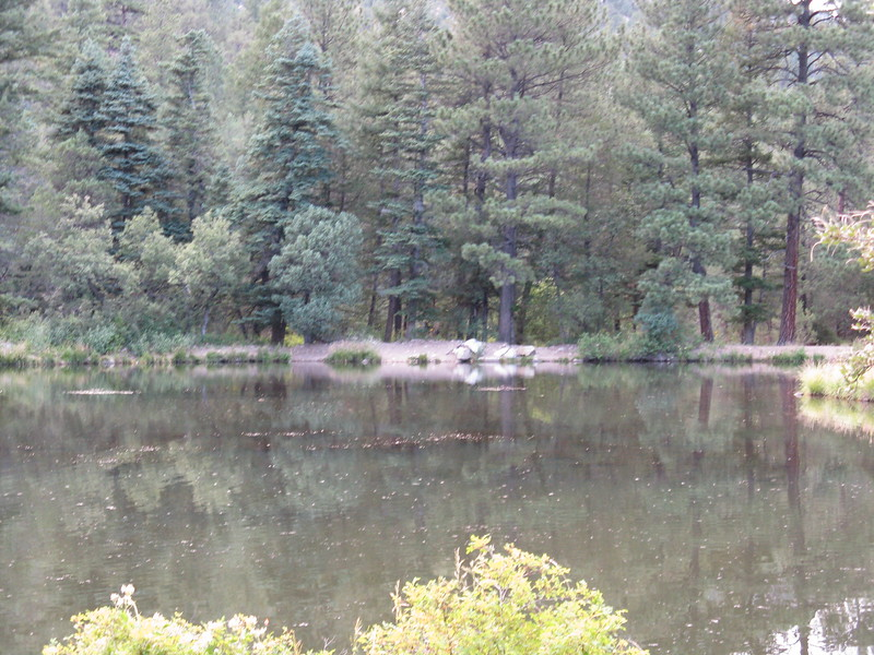 We were at the Maverick campground near this small fishing lake.