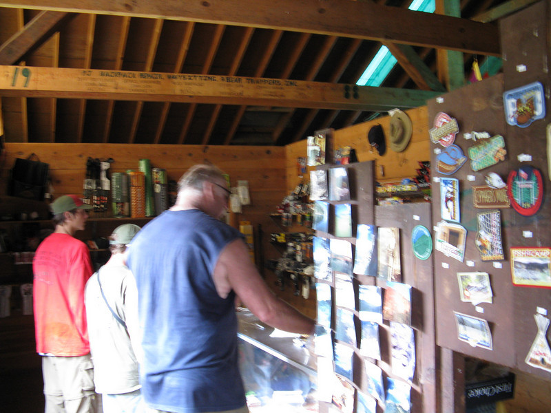 Phillips Junction has a small trading post with supplies. We bought some more fuel for the stoves.
