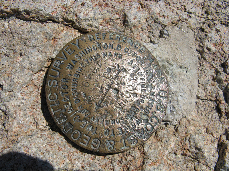 Benchmark at the Tooth of Time.