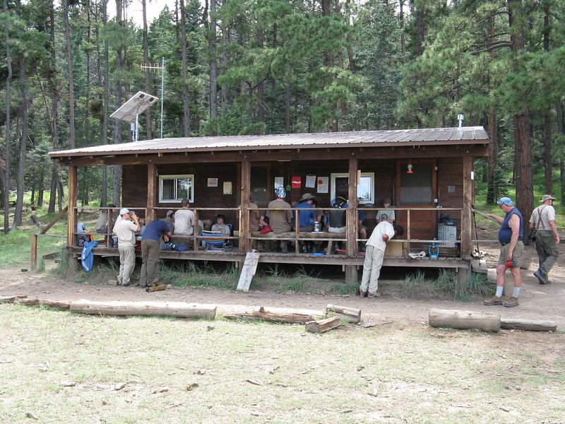 Urraca camp.
