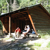 Adirondack shelter at Cypher's Mine. They use these for winter camping.