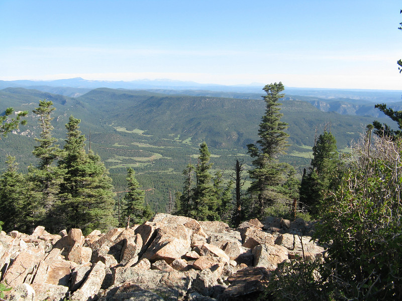 View north from Tooth Ridge.