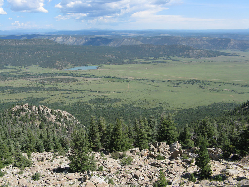 View to the northern part of Philmont.