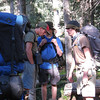 Day 8 on the trail is an easy hike up to Clear Creek staff camp and the Rocky Mountain Fur Co.