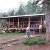 Staff cabin at Apache Springs.