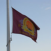 Philmont flag near the dining hall.
