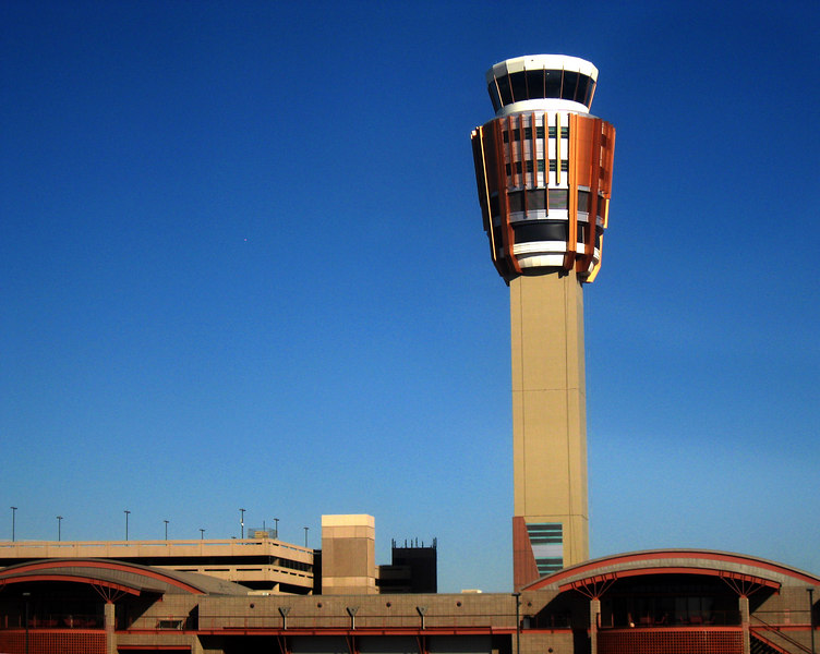 Phoenix control tower - fancy!