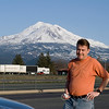 The trip down - John at Mt. Shasta