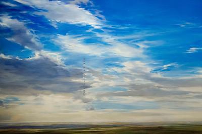 Sky painting 7511