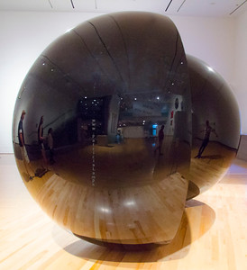sphere in Phx museum 7410