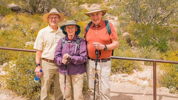 White Tank Mountain-Hike-Roger, Sheila, Ted-06834