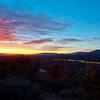 Sedona AZ at dusk