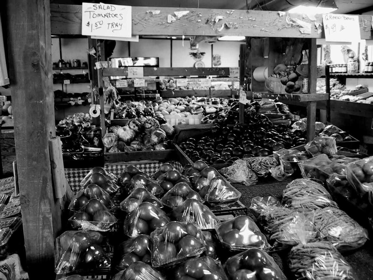 Famers' Market, Chandler, May 2001