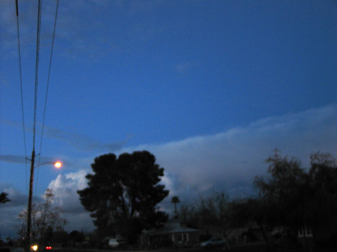 Sunset in Coronado Historic District, February 2005