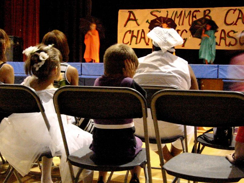 A Summer Cabaret at East Lake Park Community Center- August, 2002